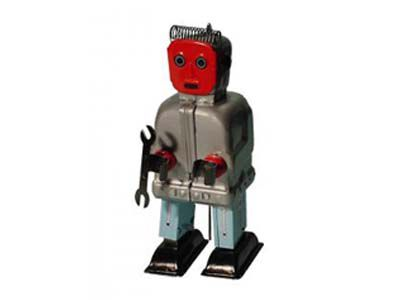 Redfaced robot