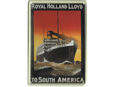 Royal Holland loyd, to South America