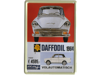 Daffodil 1964. Volautomatisch