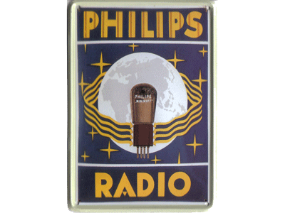 Philips Radio, Lamp